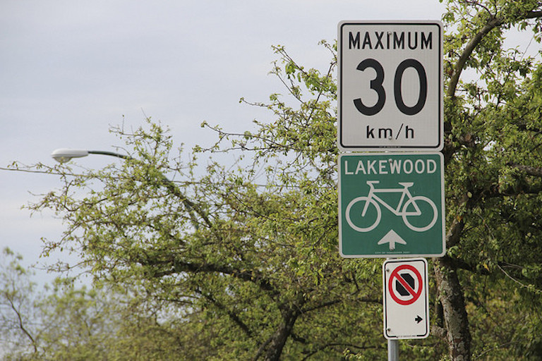 Vancouver Speed Limit 768
